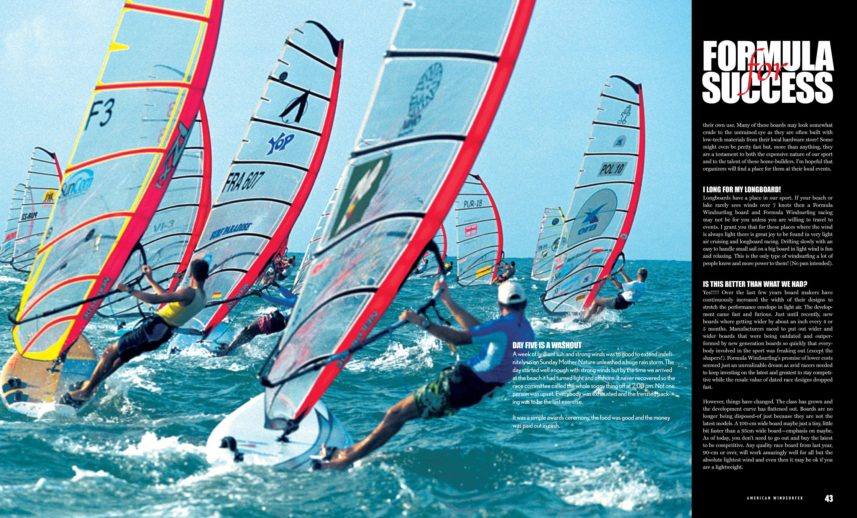 Formula For Success American Windsurfer