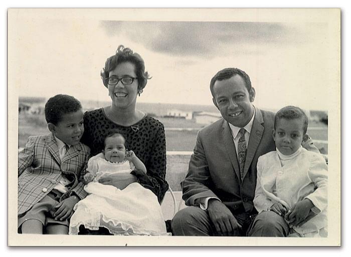 brian talma's family portriat