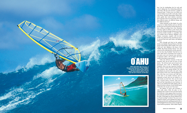 Oahu: The All Around Playground – American Windsurfer
